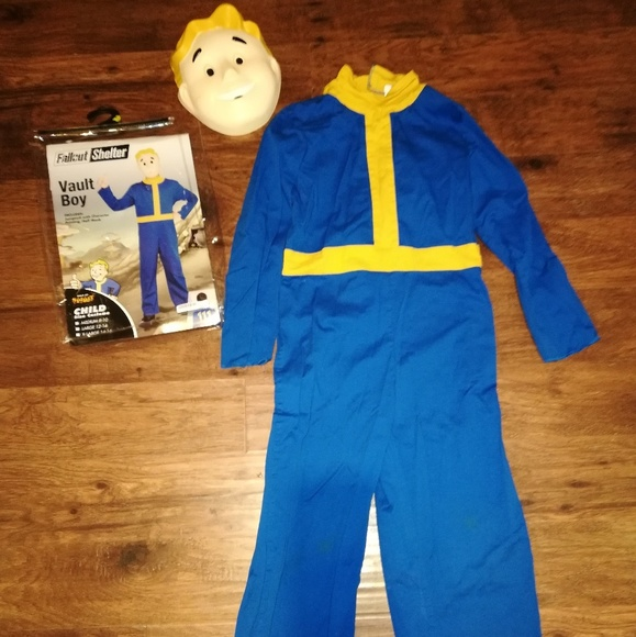 fallout shelter vault boy halloween costume